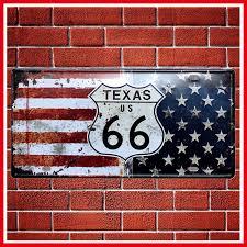 Metal Texas Decor Signs