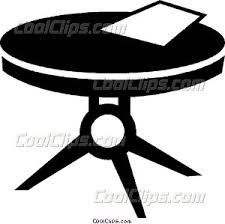 coffee table clipart black and white. coffee table clipart black and white