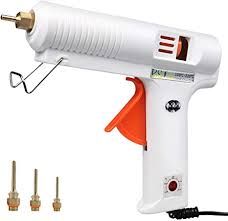 100W Hot Glue Gun with Three Interchangeable ... - Amazon.com