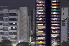 Lamborghini Vending Machine Beauteous 48story 'vending Machine' Will Serve You Cars The Blade