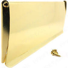 polished brass internal letter box flap draught excluder inner post cover plate letter box cover