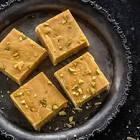 besan burfi  sweet gram flour squares