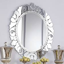 Venetian Mirrors : Jessica McClintock Couture Round Venetian Decorative  Mirror
