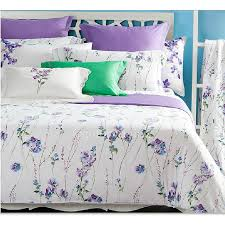 delicate fl natural cotton high quality white duvet cover