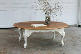 shabby chic coffee table living room astounding white shabby chic coffee table design with round wooden
