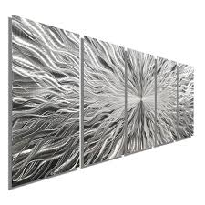 large black metal wall art vortex 5 xl extra large 5 panel modern abstract metal wall