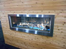 brand new indoor outdoor linear gas fireplace from town country pacific gas
