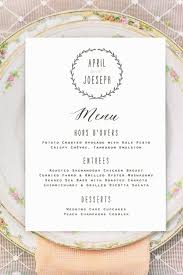 best 25 wedding menu cards ideas on pinterest wedding menu Wedding Reception Menu Cards wreath wedding menu cards printed vintage rustic by brossiebelle wedding reception menu card template