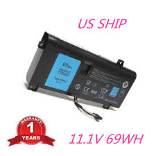 genuine battery dell alienware 14 a14 m14x r3 r4 g05yj 0g05yj y3pn0 8x70t 69wh from dell