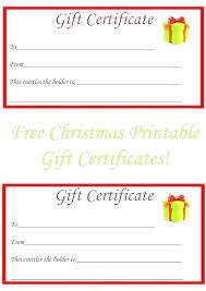 Make Your Own Gift Certificate Free Printable Make Your Own Template Free