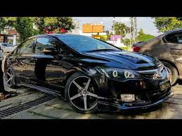 The honda civic has been around for a bit, as it was launched in 1972. Honda Civic Reborn Black Modified Fd2 Youtube