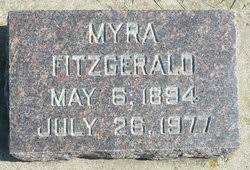 Myra Fitzgerald (1894-1977) - Find A Grave Memorial