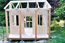 how to build a simple playhouse how to build a simple playhouse plans free elevated with