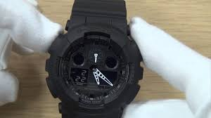 how to set a g shock watch