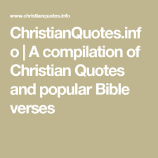 Popular Christian Quotes Best Of ChristianQuotes A Compilation Of Christian Quotes And Popular