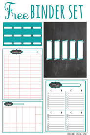 Free Printable Binder Templates 20 Free Printables To Organize Everything In Your Home