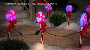 Lowes Lollipop Lights Pathway Stakes S 3 Glitter Lollipops