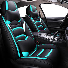 black red green car seat cover for land