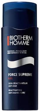 <b>Biotherm HOMME FORCE</b> SUPREME Total Anti Ageing Gel 50ml ...