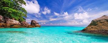 Beach Day Ultra HD Desktop Background ...
