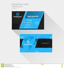 Corporate Visiting Card Design Vector Free Download Corporate Business Card Print Template Personal Visiting