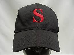 S Logo Port Authority Polyester One Size Adjustable Ball Cap Hat Ebay