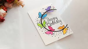 Card Bday How To Make Special Butterfly Birthday Card For Best Friend Diy Gift Idea