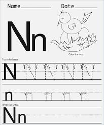 Letter N Worksheets for Preschool – webmart.me