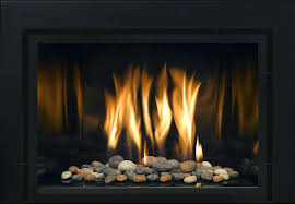 gas fireplace stones modern inserts gas fireplace stones rocks