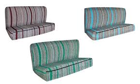 saddle blanket bench seat cover