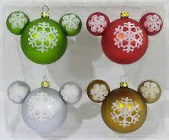 Glas Weihnachtskugeln Disney Micky Maus