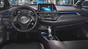Toyota C-HR 2017 Dashboard Zoom  H