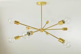 kitchen decorative mid century chandelier 33 winning socket brass sputnik moderneliers diyelier glass mid century chandelier