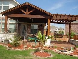 Decor Covered Patio Ideas Design With Landscaping Also Casement