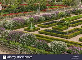 Kitchen Gardens Formal Potager Kitchen Gardens Parterre Stock Photos Formal
