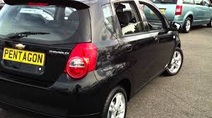 2009 CHEVROLET AVEO 1.4 LT 5DR AUTO BLACK - YouTube