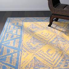 light colored area rug one of a kind handmade cotton dark blue light brown area light