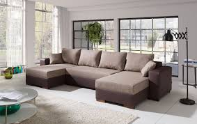 Couch Couchgarnitur Sofa Polsterecke 41122002 U Wohnlandschaft Schlaffunktion