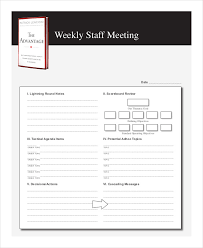 sample agendas for staff meetings 54 meeting agenda examples