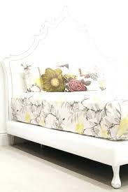 White Leather Tufted Bed White Leather Quilted Headboard Popular ...