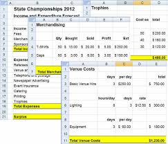 Example Budget Sheet Budgeting Developing A Budget In Microsoft Excel