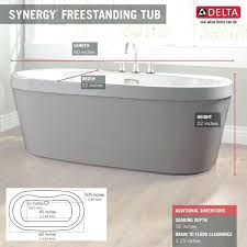 acrylic soaking tub 60 x 30. acrylic freestanding bathtub with integrated waste and overflow in white b14416 6032 wh the home depot60 soaking tub 60 x 30