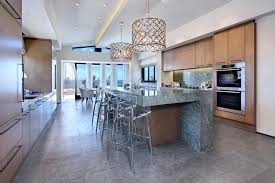 kitchen chandelier design ideas foyer light fixtures beach style with bold top islands and carts ceiling