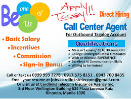 Jobs Hiring Without Resume Call Center Agent Tagalog Account Job Hiring PinoyJobsph 45