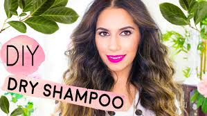 diy dry shampoo for light dark hair tinted volume for oily hair diy beauty himani wright you