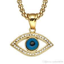 whole evil eye pendant necklace