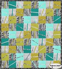 Skylines Piece of Sky Free Quilt Pattern by Hoffman Fabrics ... & Skylines Piece of Sky Free Quilt Pattern by Hoffman Fabrics Adamdwight.com