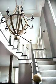 chandeliers foyer chandelier idea ideas large contemporary chandeliers transitional staircase modern with wine barrel c