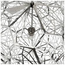tom dixon design etch web brass pendant