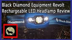 Black Diamond Headlamp Light Black Diamond Equipment Revolt Rechargeable Led Headlamp Review